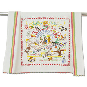 Kansas Dish Towel - catstudio