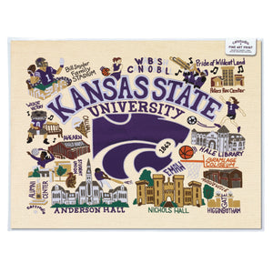Kansas State University Collegiate Fine Art Print - catstudio
