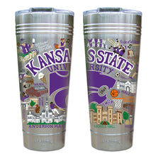 Load image into Gallery viewer, Kansas State University Collegiate Thermal Tumbler (Set of 4) - PREORDER Thermal Tumbler catstudio