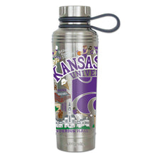 Load image into Gallery viewer, Kansas State University Collegiate Thermal Bottle - catstudio