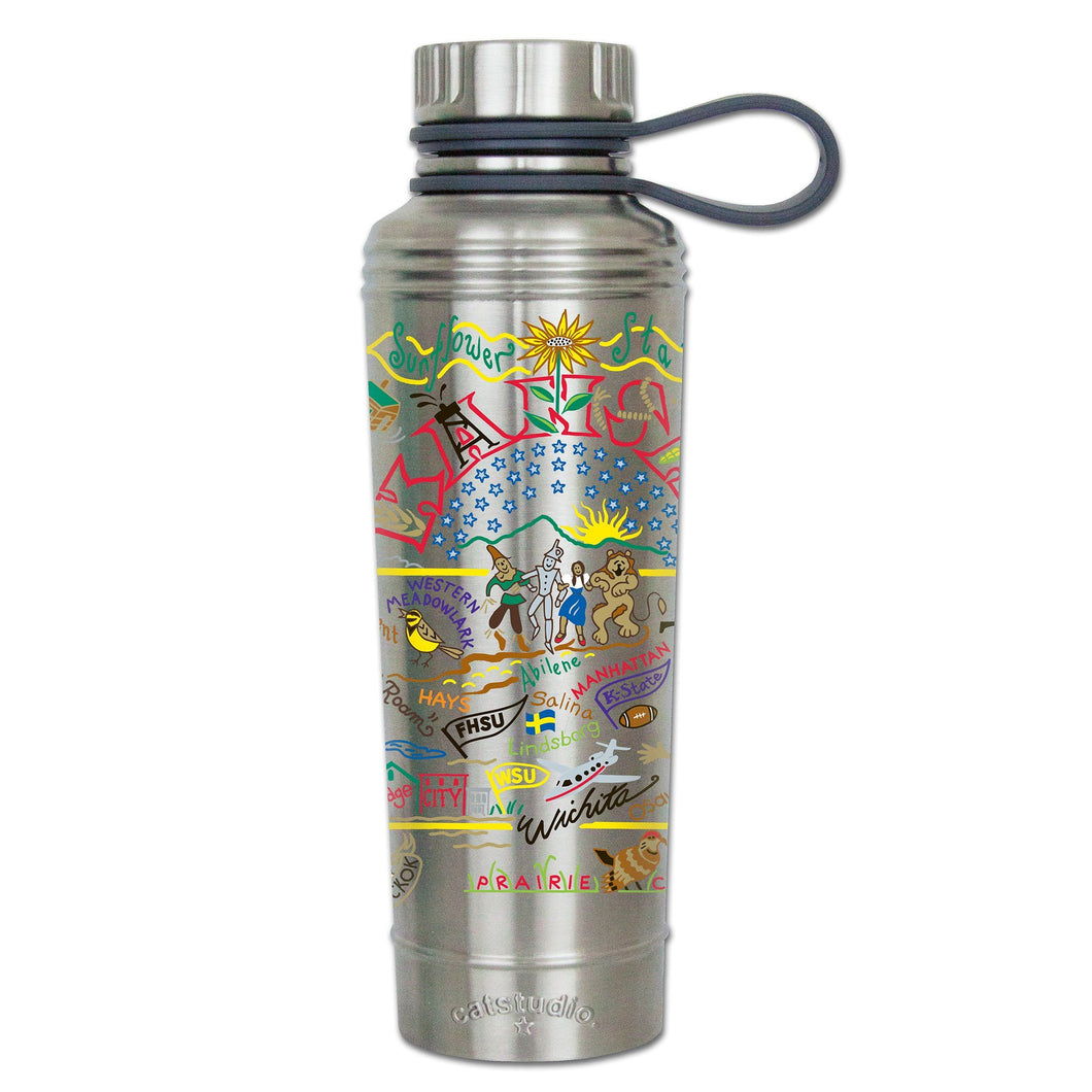 Kansas Thermal Bottle - catstudio