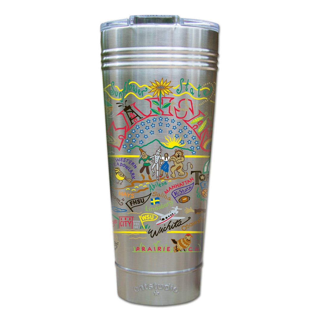 Kansas Thermal Tumbler (Set of 4) - PREORDER Thermal Tumbler catstudio