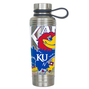 Kansas, University of Collegiate Thermal Bottle - catstudio