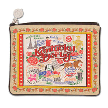 Load image into Gallery viewer, Kentucky Derby Pouch - catstudio