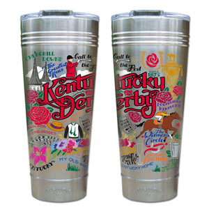 Kentucky Derby Thermal Tumbler (Set of 4) - PREORDER Thermal Tumbler catstudio