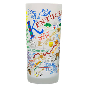 Kentucky Drinking Glass - catstudio