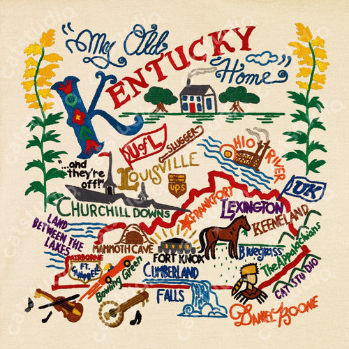Kentucky Fine Art Print - catstudio