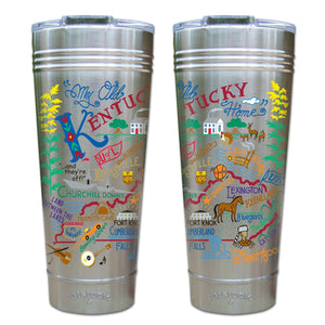 Kentucky Thermal Tumbler (Set of 4) - PREORDER Thermal Tumbler catstudio