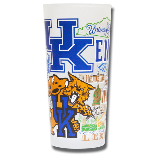 Kentucky, University of Collegiate Drinking Glass - catstudio