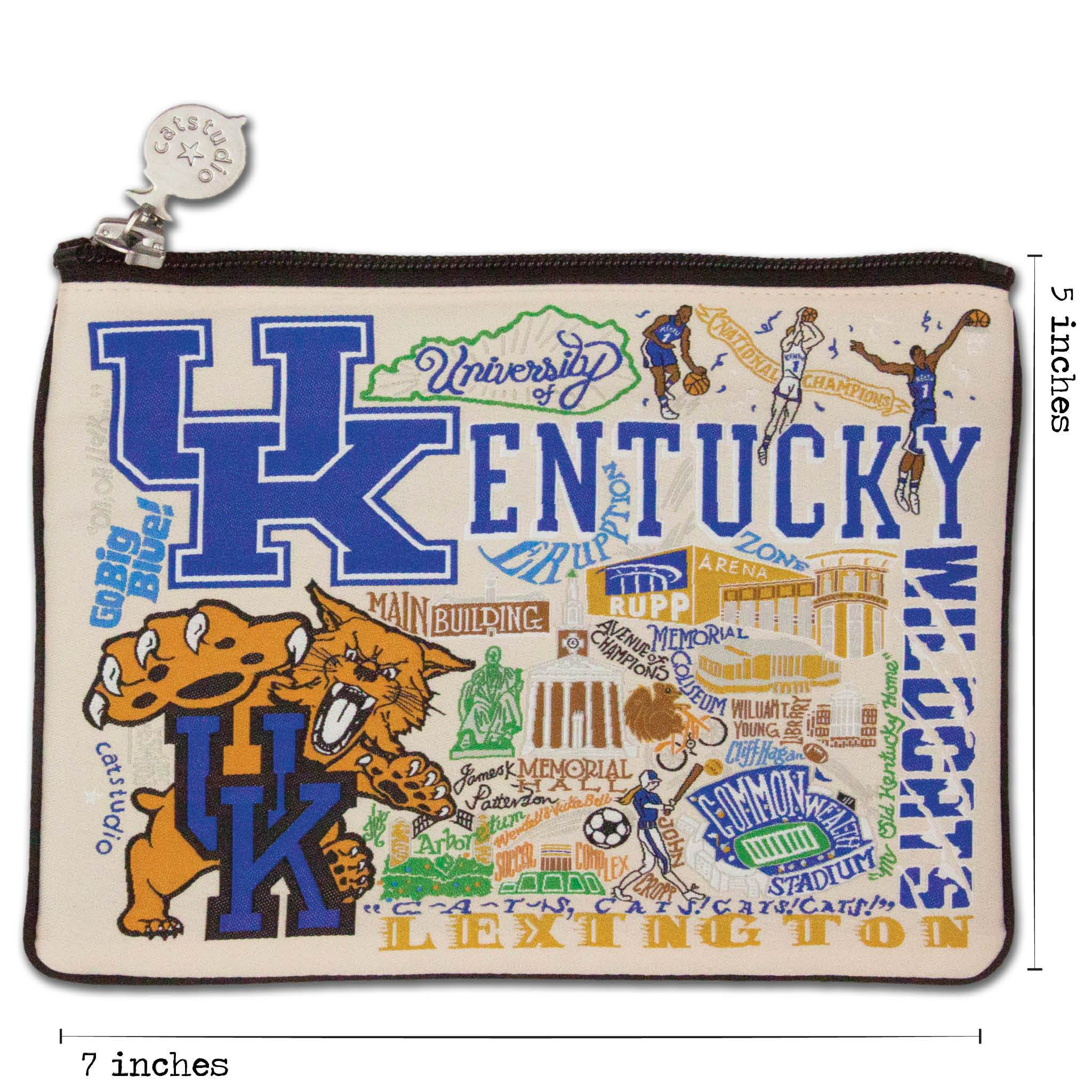 UNIVERSITY KENTUCKY WILDCATS EMBROIDERED WALLET