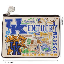 Load image into Gallery viewer, Kentucky, University of Collegiate Zip Pouch - catstudio