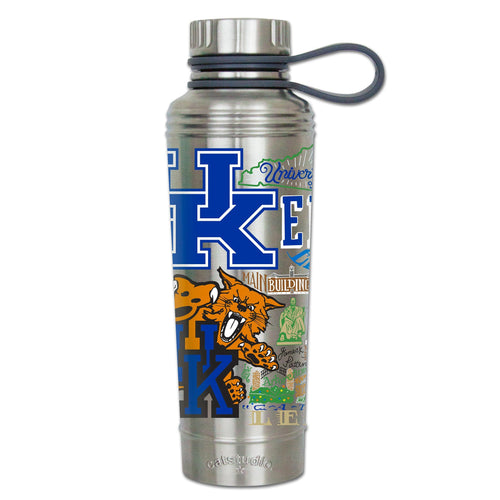 Kentucky, University of Collegiate Thermal Bottle - catstudio