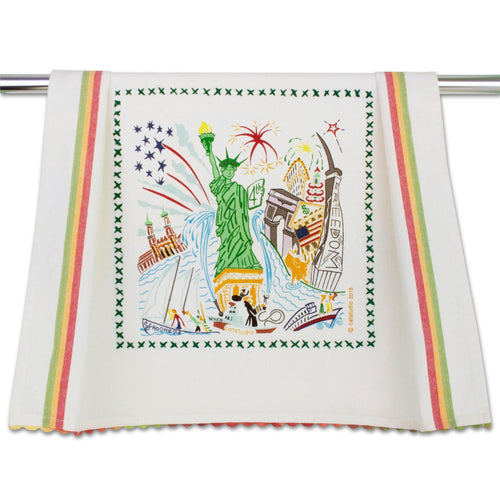 Lady Liberty Dish Towel - catstudio