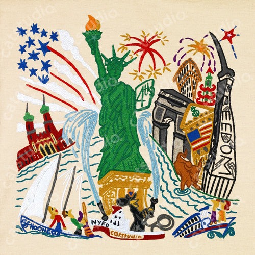 Lady Liberty Fine Art Print - catstudio