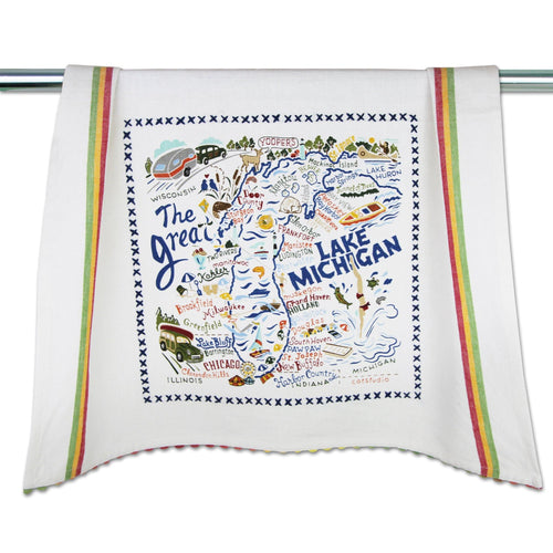 Lake Michigan Dish Towel - catstudio