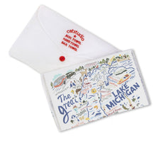 Load image into Gallery viewer, Lake Michigan Dish Towel - catstudio