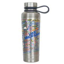 Load image into Gallery viewer, Lake Michigan Thermal Bottle Thermal Bottle catstudio