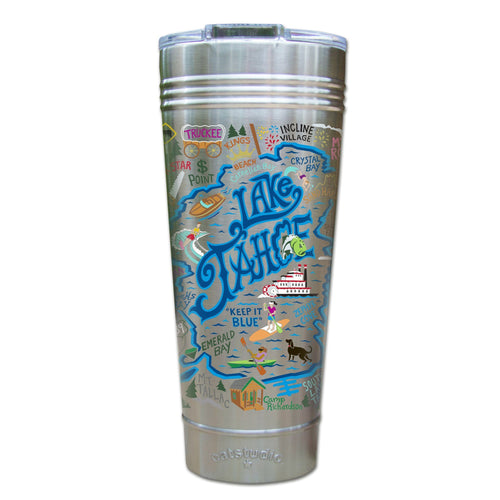 Lake Tahoe Thermal Tumbler (Set of 4) - PREORDER Thermal Tumbler catstudio