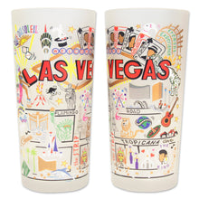 Load image into Gallery viewer, Las Vegas Drinking Glass - catstudio