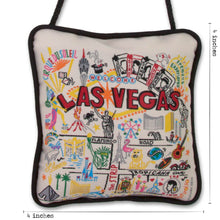 Load image into Gallery viewer, Las Vegas Mini Pillow Ornament - catstudio