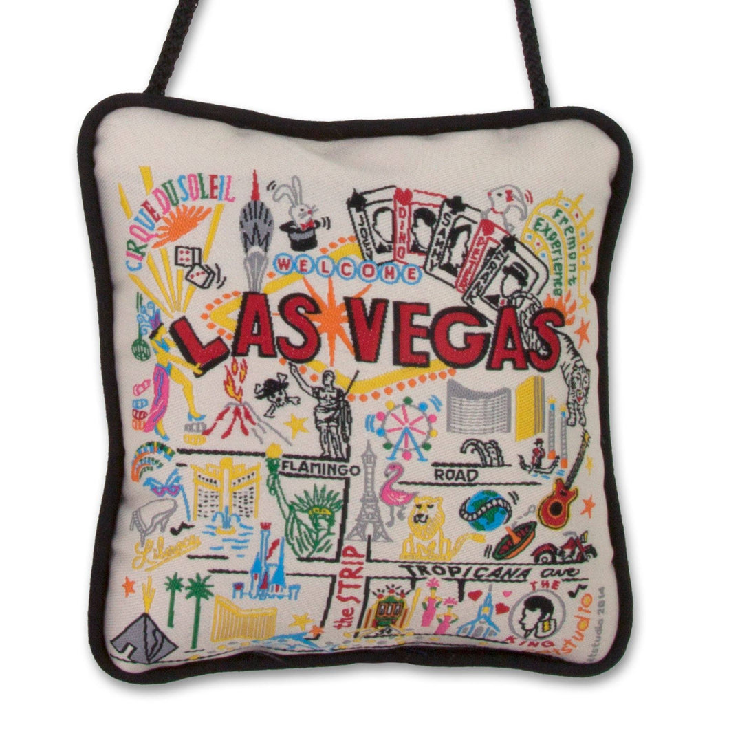 Las Vegas Mini Pillow Ornament - catstudio