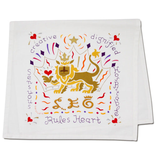 Leo Astrology Dish Towel Dish Towel catstudio