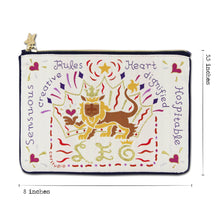 Load image into Gallery viewer, Leo Astrology Zip Pouch Pouch catstudio