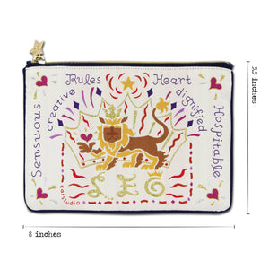 Leo Astrology Zip Pouch Pouch catstudio