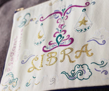 Load image into Gallery viewer, Libra Astrology Zip Pouch - catstudio