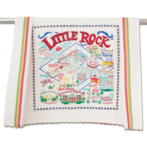 Little Rock Dish Towel - catstudio