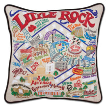 Load image into Gallery viewer, Little Rock Hand-Embroidered Pillow - catstudio
