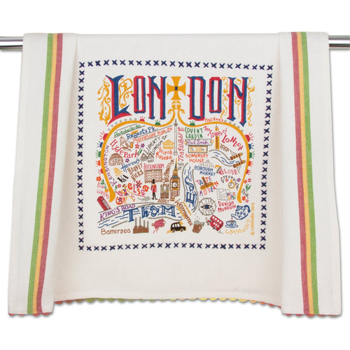London Dish Towel - catstudio