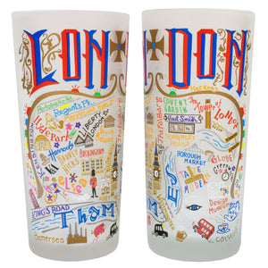 London Drinking Glass - catstudio