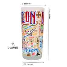 Load image into Gallery viewer, London Drinking Glass - catstudio