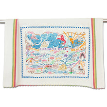 Load image into Gallery viewer, Long Island Dish Towel - catstudio