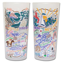 Load image into Gallery viewer, Long Island Drinking Glass - catstudio