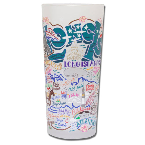 Long Island Drinking Glass - catstudio