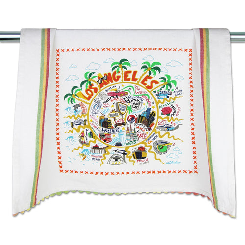 Los Angeles Dish Towel - catstudio