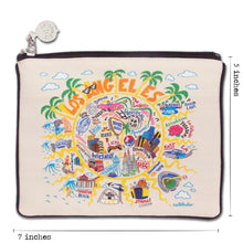 Load image into Gallery viewer, Los Angeles Zip Pouch - Natural - catstudio
