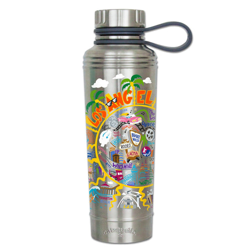 Los Angeles Thermal Bottle - catstudio