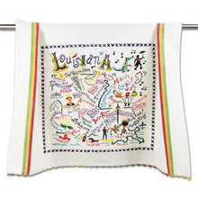 Load image into Gallery viewer, Louisiana Dish Towel Dish Towel catstudio