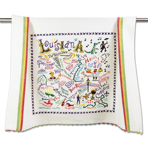 Louisiana Dish Towel - catstudio