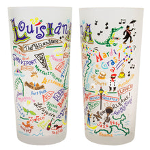 Load image into Gallery viewer, Louisiana Drinking Glass - catstudio