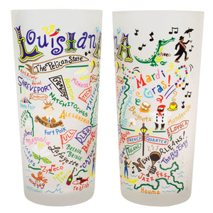 Louisiana Drinking Glass - catstudio