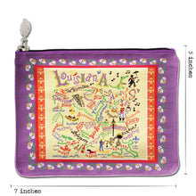 Load image into Gallery viewer, Louisiana Zip Pouch - Pattern - catstudio