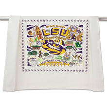 Load image into Gallery viewer, Louisiana State University (LSU) Collegiate Dish Towel - catstudio