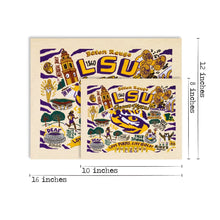 Load image into Gallery viewer, Louisiana State University (LSU) Collegiate Fine Art Print - catstudio
