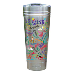 Louisiana Thermal Tumbler (Set of 4) - PREORDER Thermal Tumbler catstudio