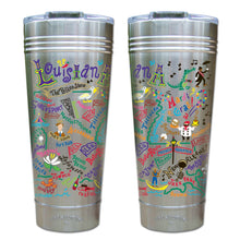 Load image into Gallery viewer, Louisiana Thermal Tumbler (Set of 4) - PREORDER Thermal Tumbler catstudio