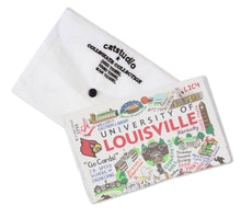 Load image into Gallery viewer, Louisville, University of Collegiate Dish Towel - catstudio